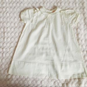 Other - Vintage white cotton baby girl dress💞